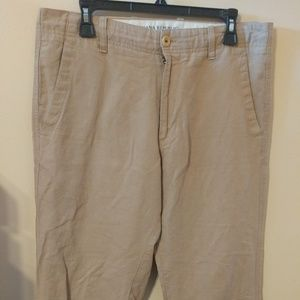 Banana Republic Men's Relaxed Fit Linen Pants 34